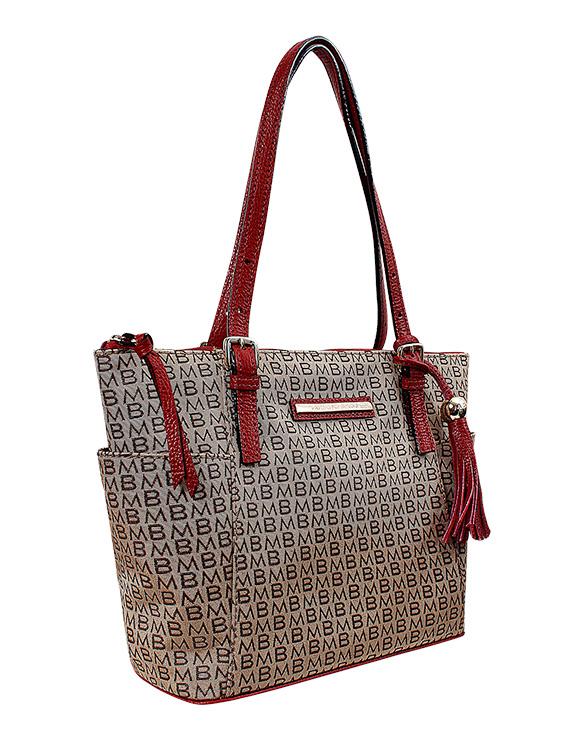 Cartera Tote Bag DS-2553LB Color Rojo