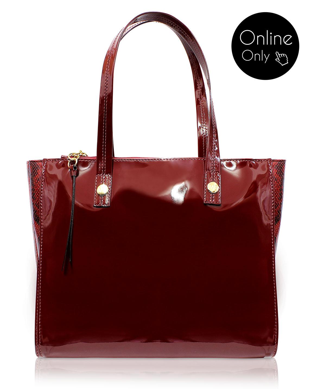 Cartera Tote Bag DS-2568 Color Rojo