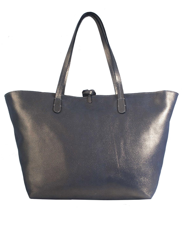 Cartera Tote Bag DS-2573 Color Oro Azul