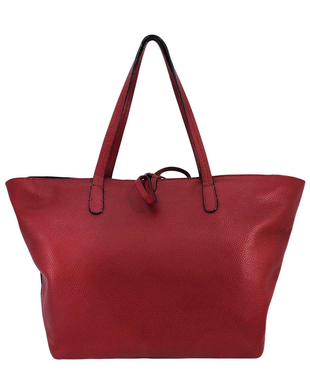 Cartera Tote Bag DS-2573 Color Rojo