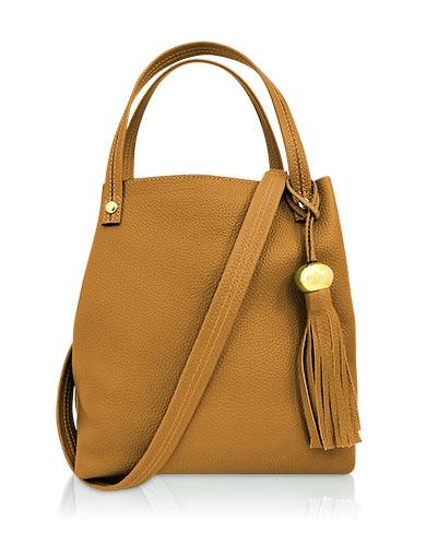 Cartera Tote Bag DS-2582 Color Amarillo