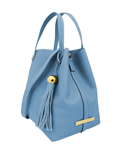 Cartera Tote Bag DS-2582 Color Celeste