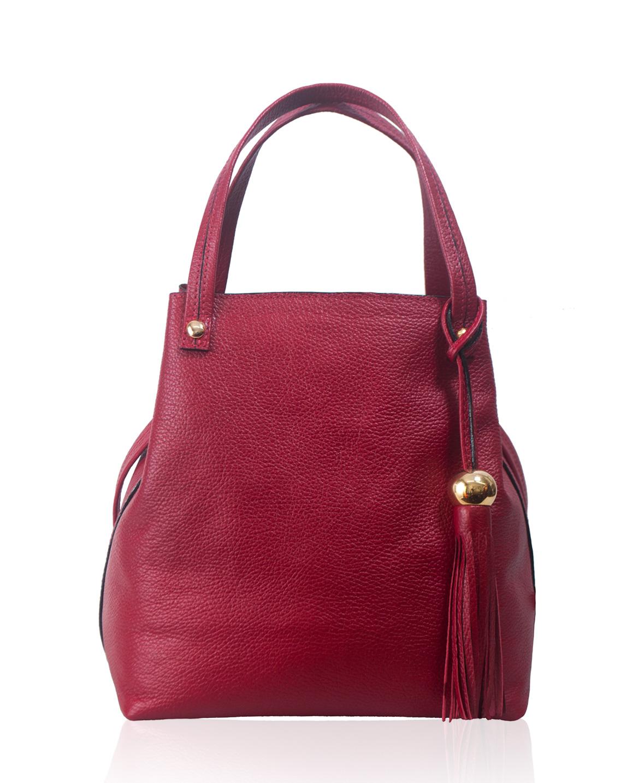 Cartera Tote Bag DS-2582 Color Rojo