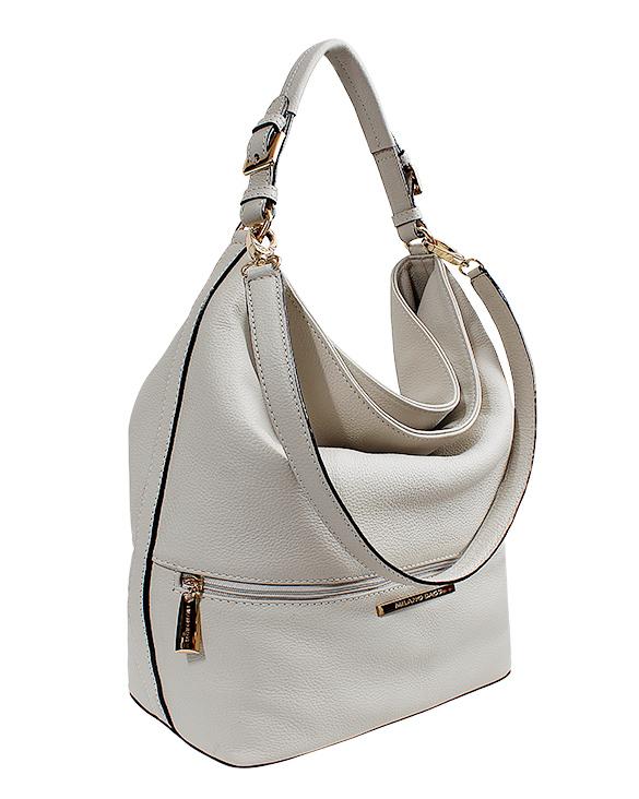 Cartera Tote Bag DS-2627 Color Blanco