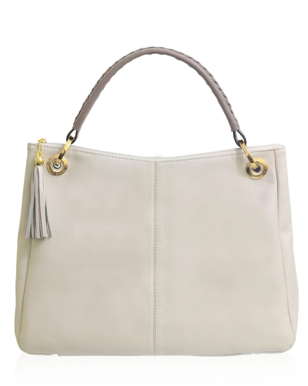 Cartera Tote Bag DS-2690 Color Blanco