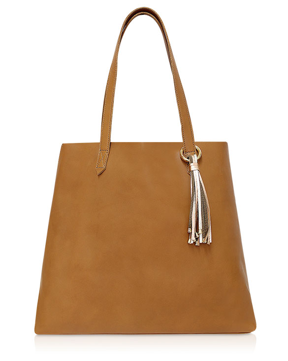 Cartera Tote Bag DS-2757 Color Natural