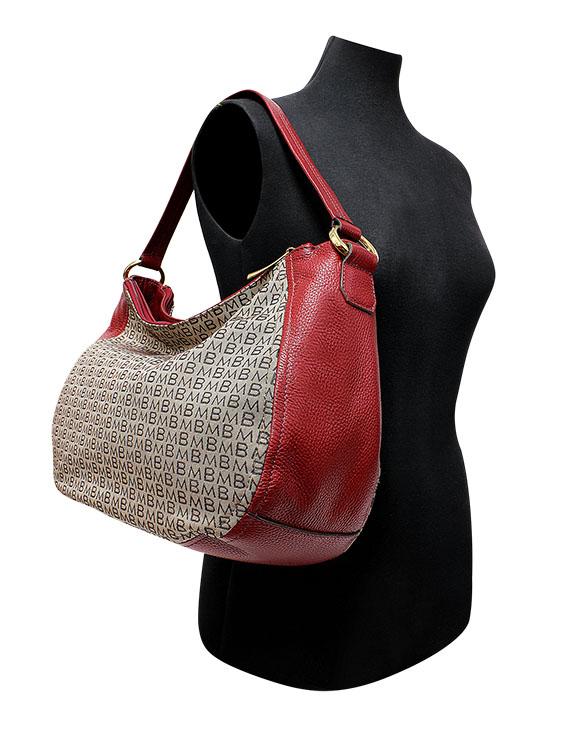 Cartera Tote Bag  DS-2759LB Color Rojo