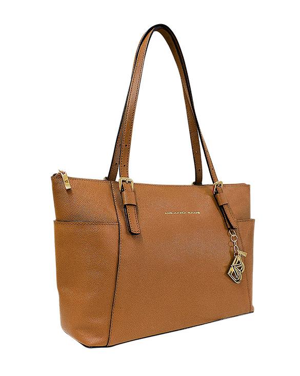 Cartera Tote Bag DS-2878 Color Natural