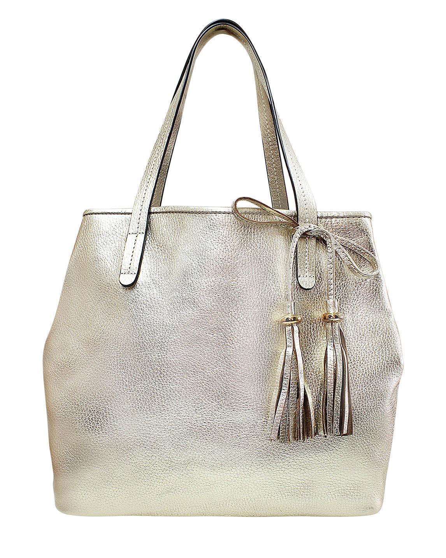 Cartera Tote Bag DS-2941 Color Oro