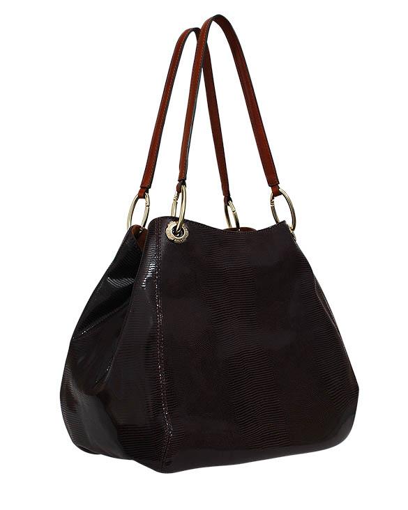 Cartera Tote Bag DS-2952 Color Marrón
