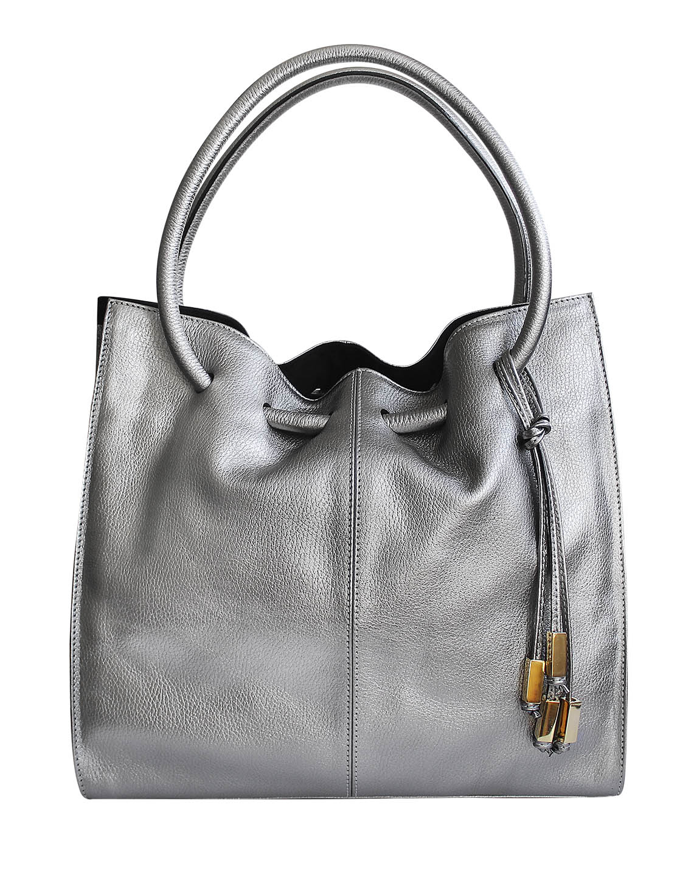 Cartera Tote Bag DS-3009 Color Plata