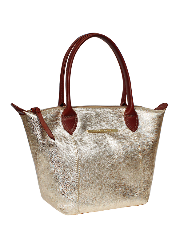 Cartera Tote Bags DS-2404 Color Oro