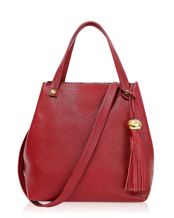 Cartera Tote Bags DS-2582 Color Rojo
