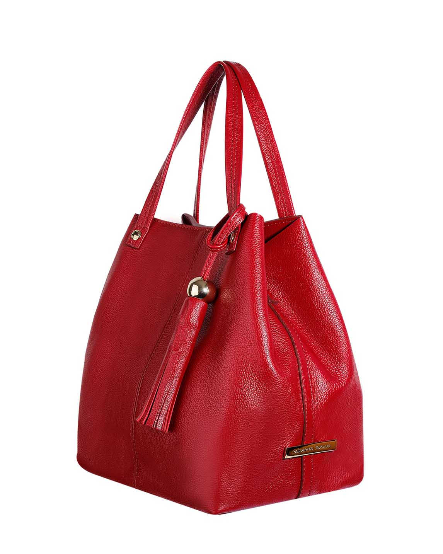 Cartera Tote Bags DS-2782 Color Rojo