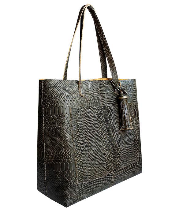 Cartera Tote Bags DS-2988 Color Marrón