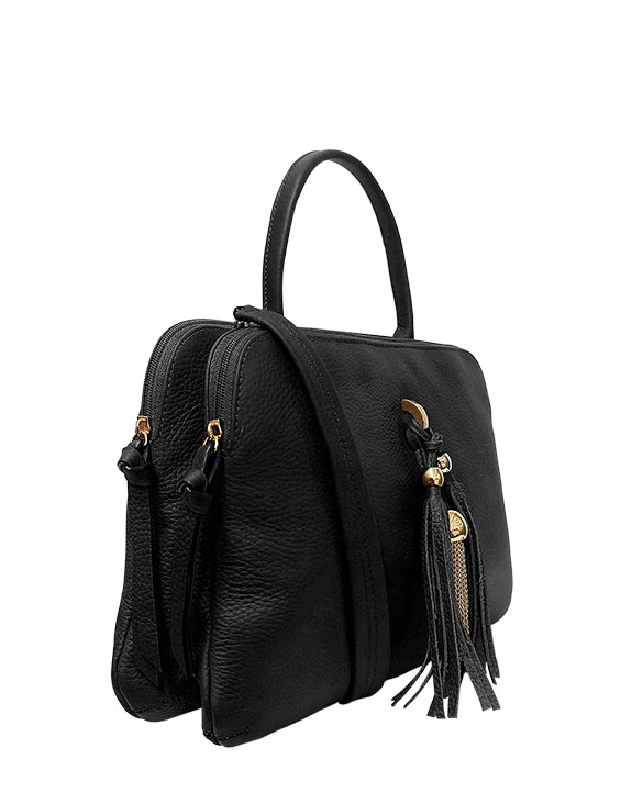 Carteras Satchel DS-2822 Color Negro