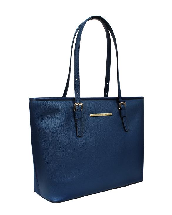 Carteras Tote Bags DS-2877 Color Azul