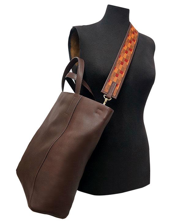Carteras Tote Bags DS-2889 Color Marron