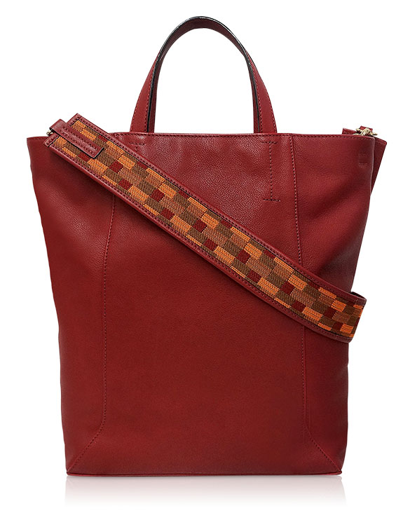Carteras Tote Bags DS-2889 Color Rojo