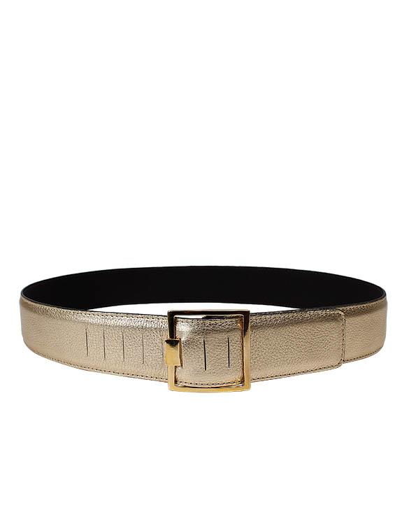 Cinturón Mujer S-0377 Color Oro