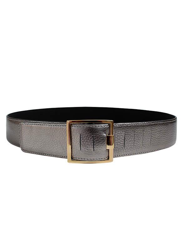 Cinturón Mujer S-0377 Color Plata
