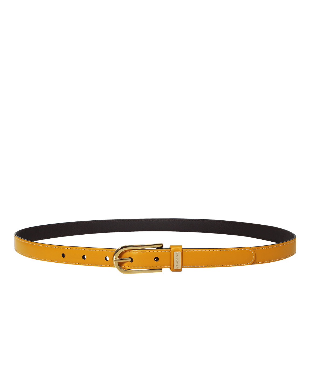 Cinturón Mujer S-0575 Color Amarillo