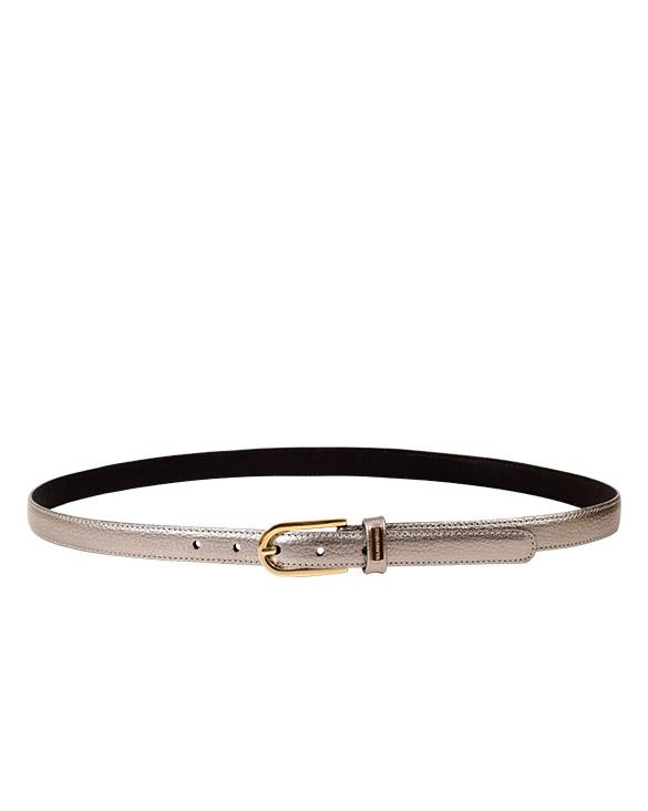 Cinturón Mujer S-0575 Color Plata