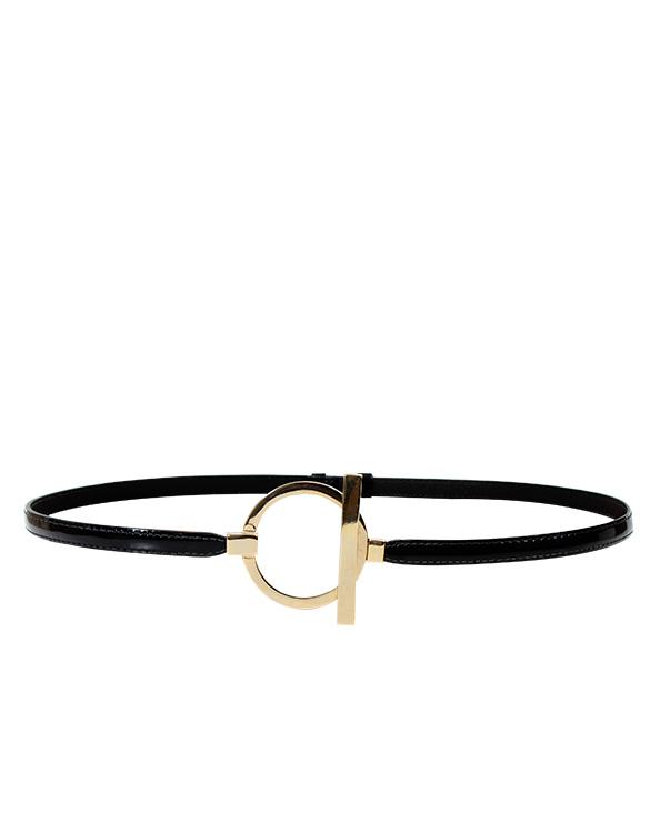 Cinturon Mujer S-123 Color Negro