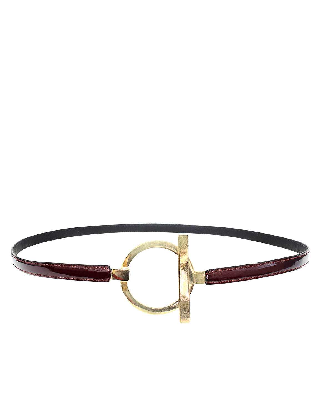 Cinturon Mujer S-123 Color Rojo