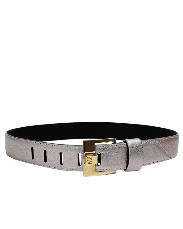 Cinturon Mujer S-400 Color Plata