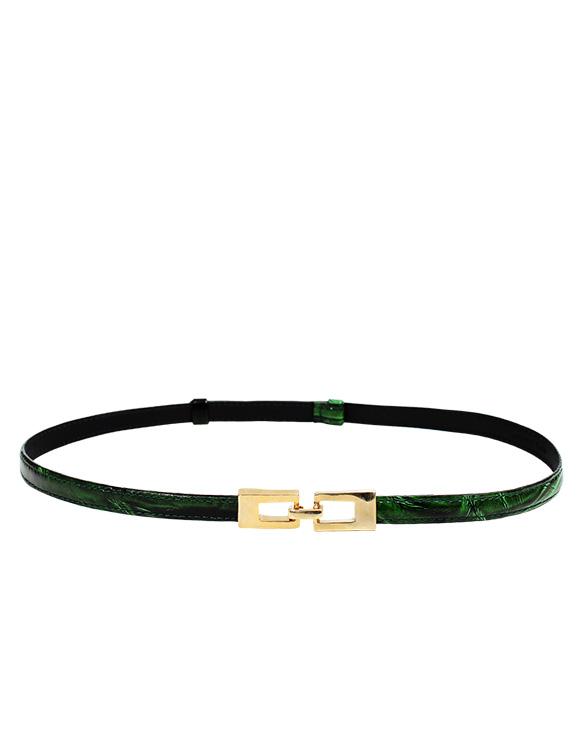 Cinturon Mujer S-416 Color Verde
