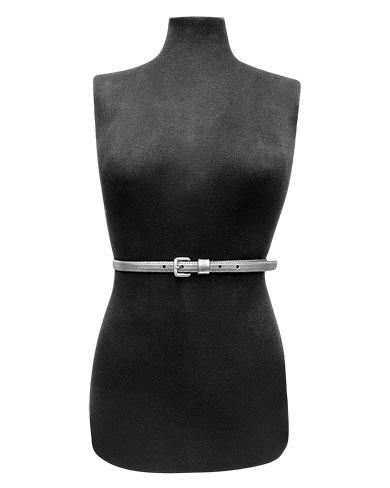 Cinturon Mujer S-440 Color Plata