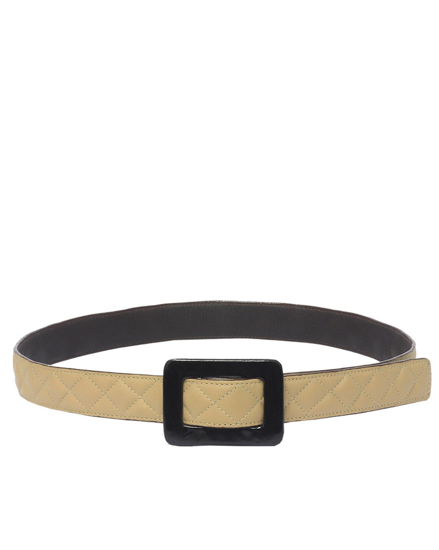 Cinturón Mujer S-449 Color Beige