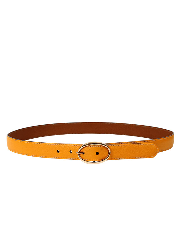 Cinturon Mujer S-507 Color Amarillo