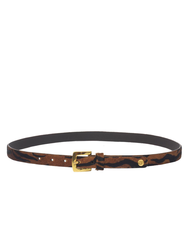 Cinturón Mujer S-537 Color Marrón
