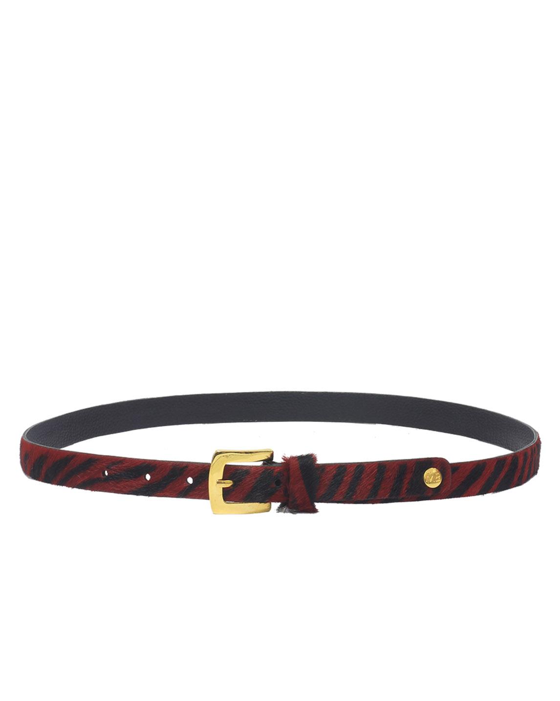 Cinturón Mujer S-537 Color Rojo