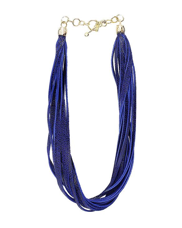 Collar-0014 Color Azul