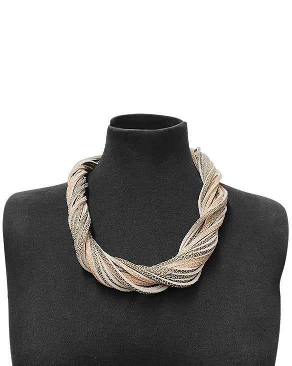 Collar-0014 Color Beige
