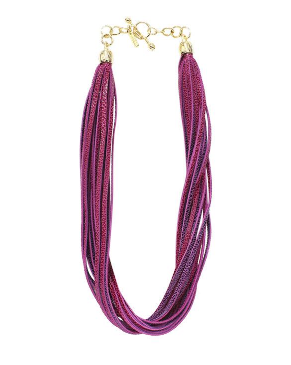 Collar-0014 Color Fucsia