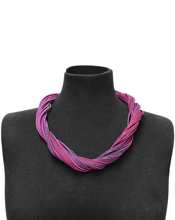 Collar-0014 Color Fucsia