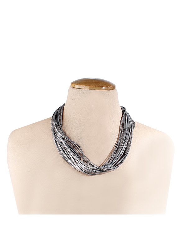 Collar-0014 Color Plata