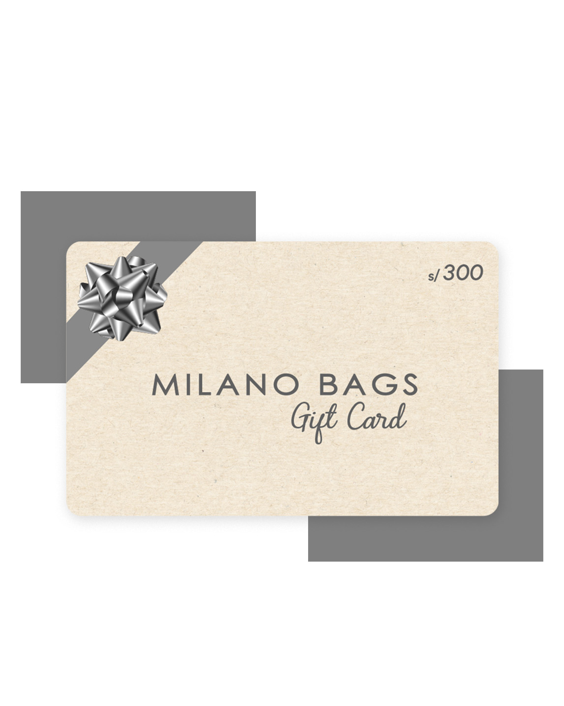 GIFT CARD 300 SOLES