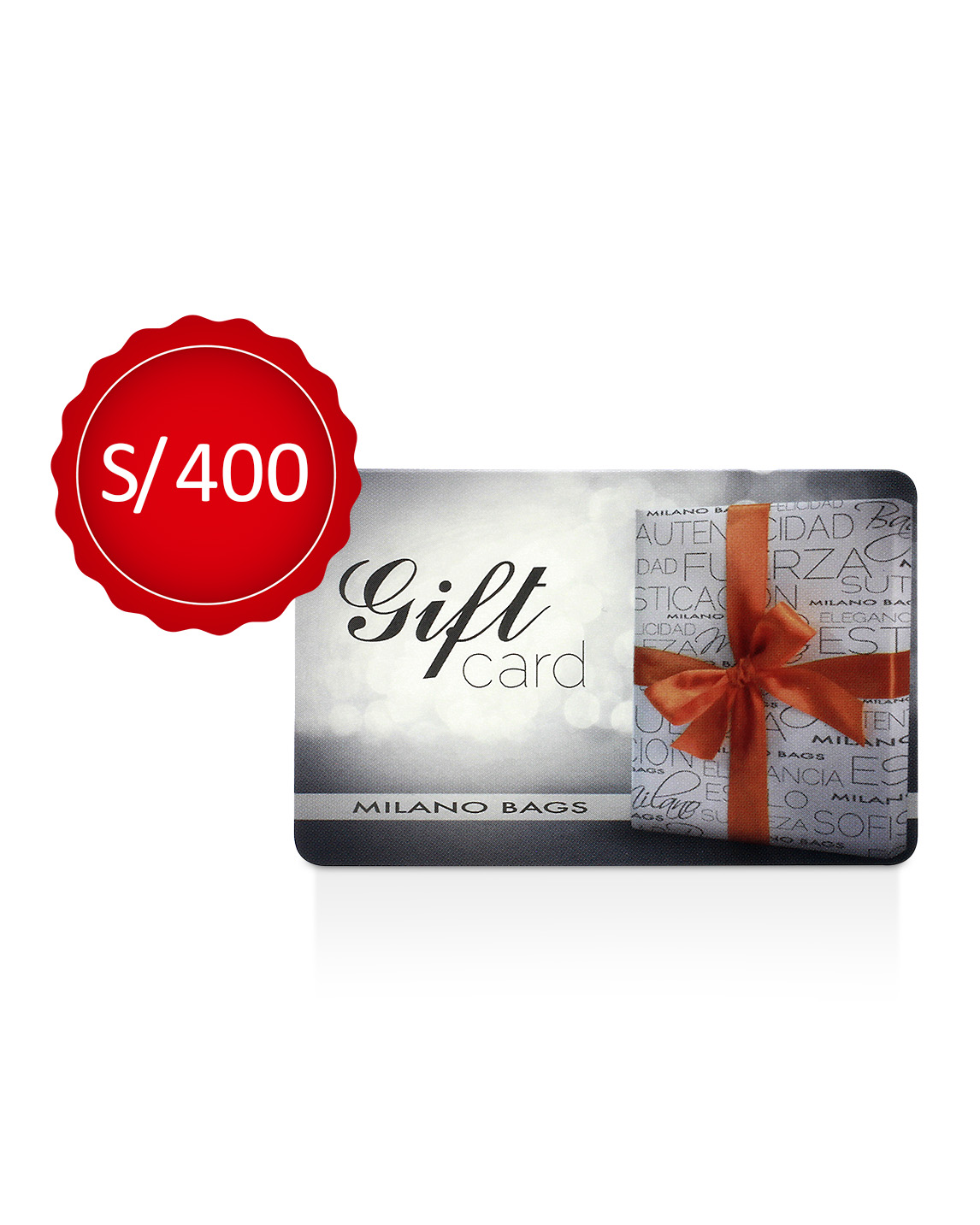 GIFT CARD 400 SOLES
