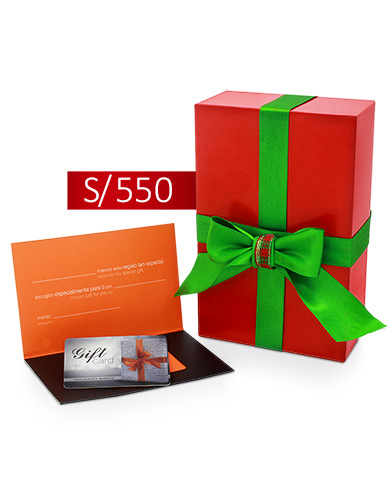 GIFT CARD 550 SOLES