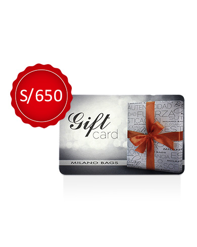 GIFT CARD 650 SOLES