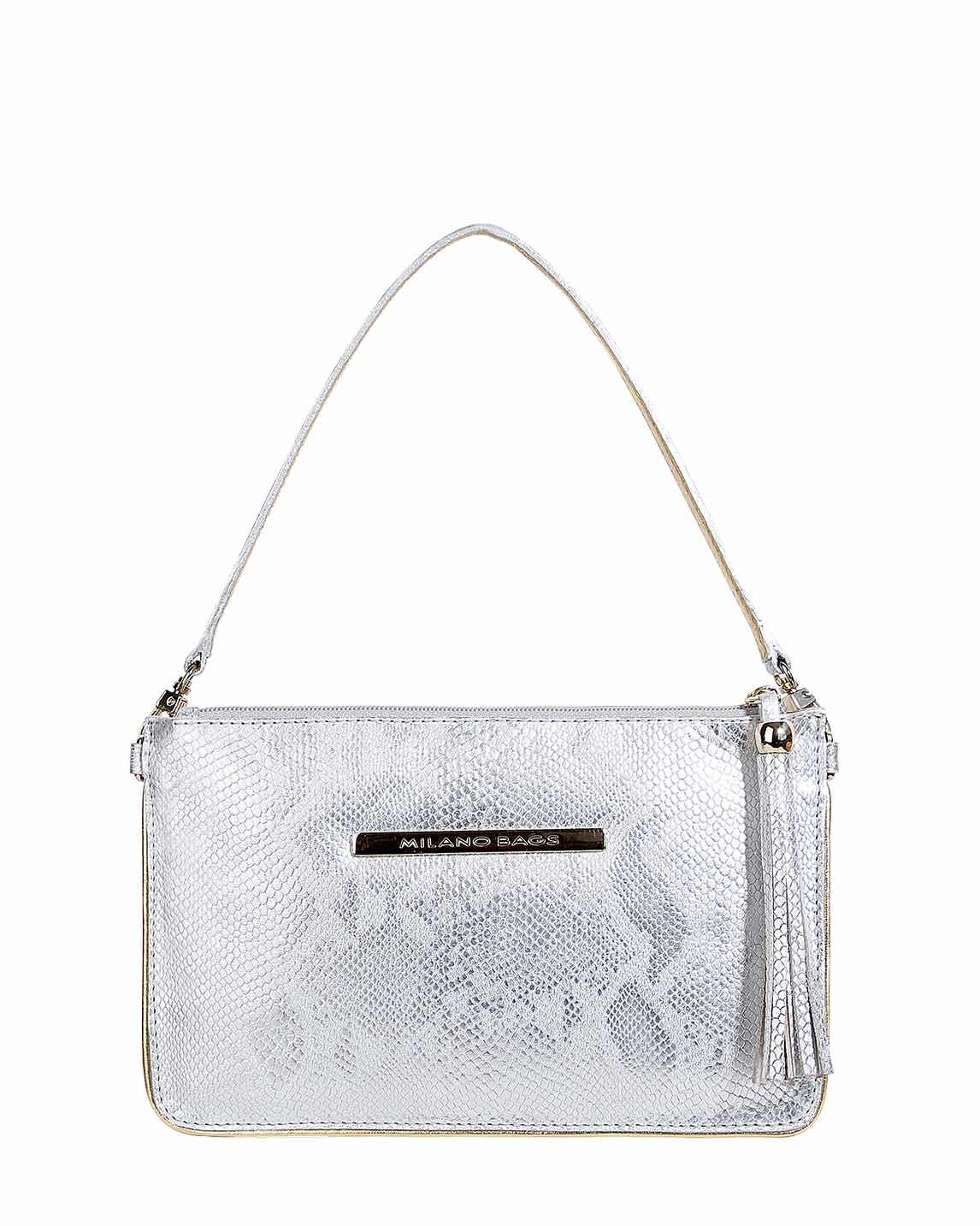 Mini Cartera DPC-13 Color Plata