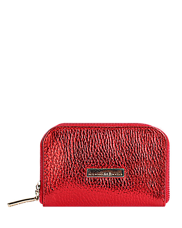 Monedero M-0057 Color Rojo