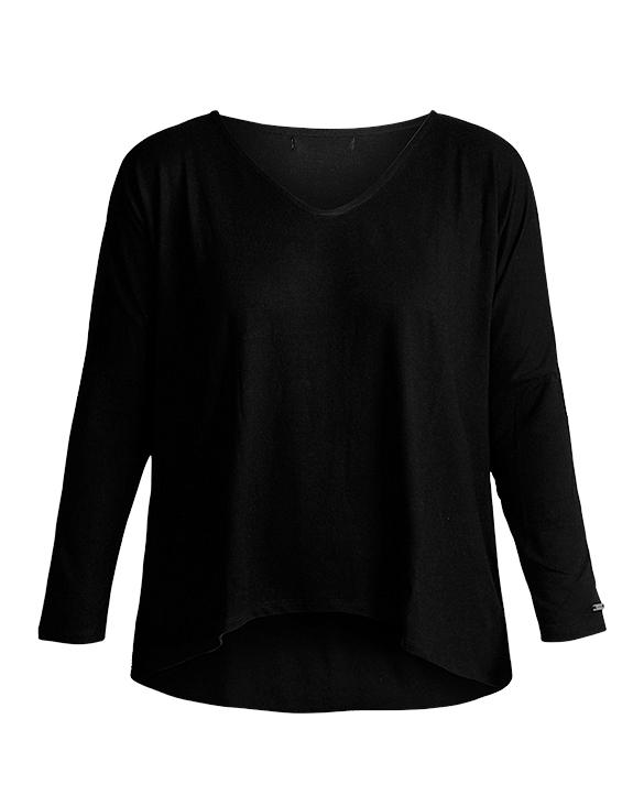 Polo Básico Oversize POL-0001 Color Negro