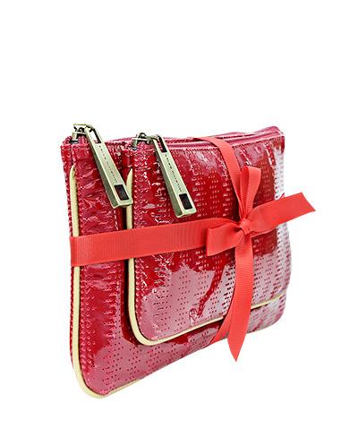 Portacosmetico PC-143 Color Rojo