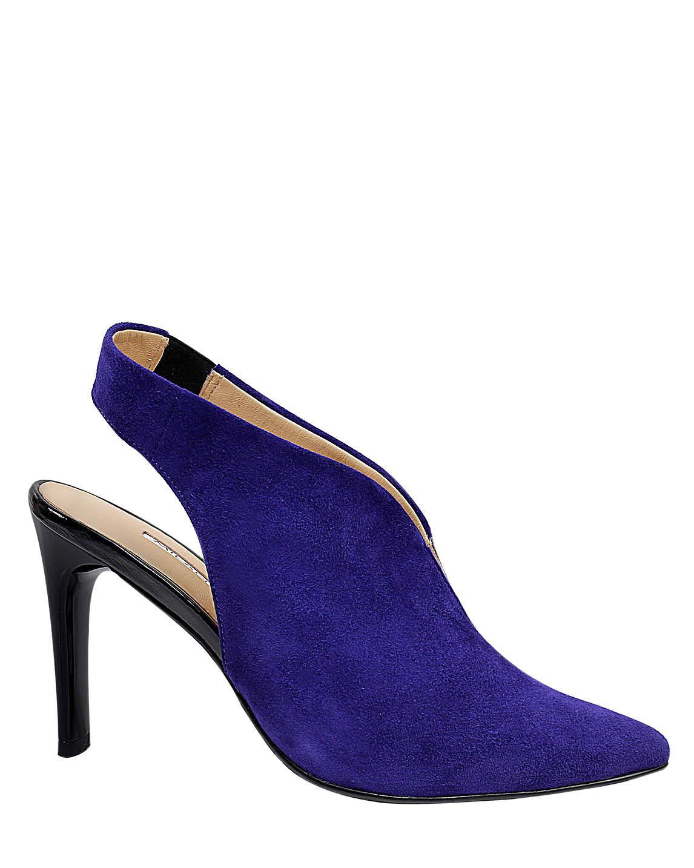 Zapato Bootie FBU-9663 Color Azul